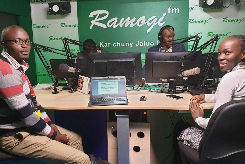 Radio ramogi studio