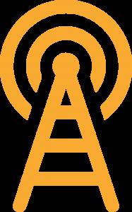 Local radio stations broadcast