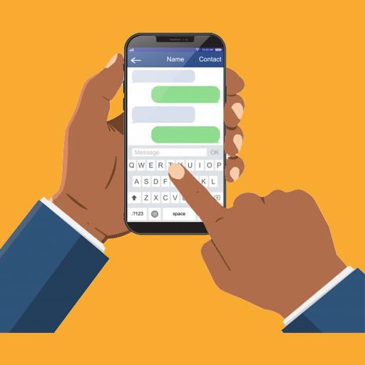 radio conversations via SMS